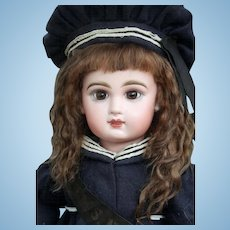 Alice (size 12-13 ) Brown Mohair Wig with Extensions