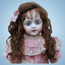 Alice (size 8-9) Brown Mohair Wig with Extensions