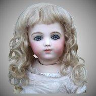 Rembrandt Mohair Wig ~Light Ash Blond Size 8-9