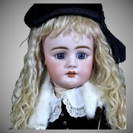 Gorgeous Simon Halbig 949 in Winter Costume, Great Wig