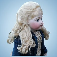 Princess Wig ~ Blond Mohair Wig size 7-8