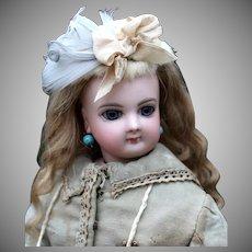 Jumeau French Fashion Doll in Original Walking Dress
