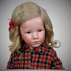 """Kathe Kruse Doll VIII """"German Child"""""""