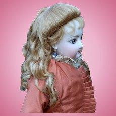 Princess Wig ~ Dark Blond Mohair Wig size 6-7