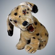 Steiff's 1950's sitting Dalmatian Dally with button