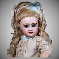 French Tete Jumeau Doll Size 7, 17 inches