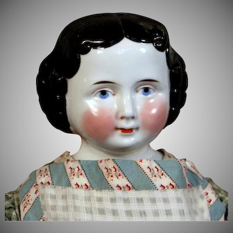 Antique Kister German China Child Doll, 21 inches