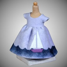 """Maggie Iacono """"Maggie Made"""" Felt Dress on Stand"""