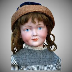 Rare German Character Child by  Kley & Hahn, Mold 520