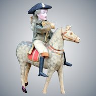 """George Washington on Horse Candy Container, 11"""" high."""