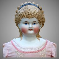 Large Spill Curl China Child Doll, 24 inches