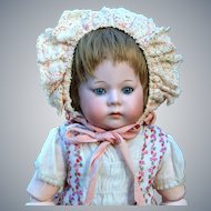 """Uncommon Bisque Pouty character """"Fany"""" By Armand Marseille, 13.5 inches"""