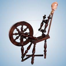 French Breton Small Spinning Wheel