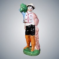 German Porcelain China Figurine, 5.5 inches