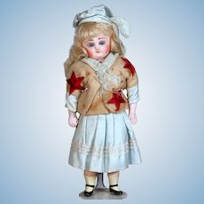 All-Original Hard Composition Sailor Doll by Schilling, 12 inches