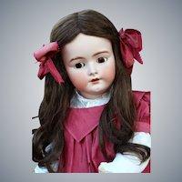 Large Handwerck German Bisque Child Doll, 32 inches