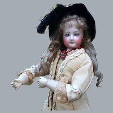 Early FG French Fashion on Deluxe Wood Articulated Body, 18 inches
