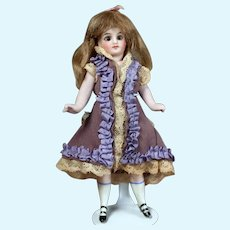 All-Bisque Slender pocket doll with swivel neck. 5.5 inches