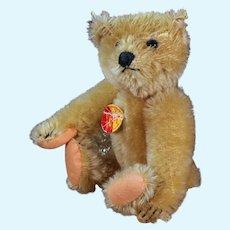 Small Steiff Bear Replica, 6.5 inches