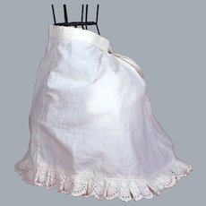 Antique Slip with room for Bustle and Train