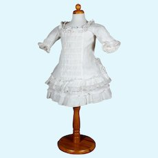 Antique Bebe Dress for Larger Doll