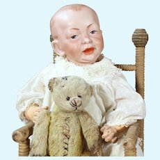 K*R 100 Character Baby with Bear, 14 inches, 14 inches