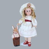 Petite Heinrich Handwerck Child Doll, 9.75 inches