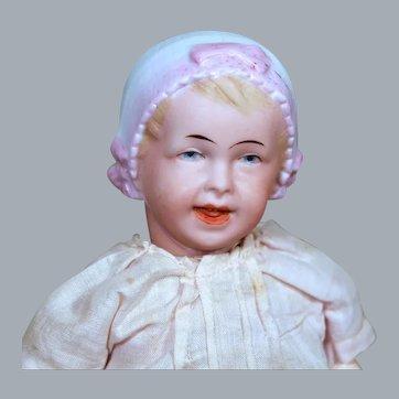 Recknagel Bonnet Bisque Baby, 8.5 inches