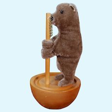 Steiff Tumbler Mohair Bear 1894 Replica, Button