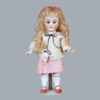 All Bisque Doll by Limbach, 6.75 inches