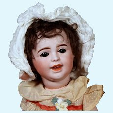 Expressive SFBJ 236 Laughing Jumeau Baby, 10.5 inches