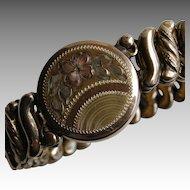 Vintage Child's Gold Fill Stretch Bracelet