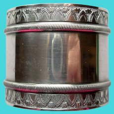 Antique Gorham Silverplate Napkin Ring, no monogram
