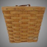 Vintage Longaberger Large Wall Hanging Basket