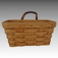 Vintage Longaberger Medium Wall Hanging Basket