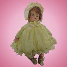 Vintage Madame Alexander Little Genius Baby Doll