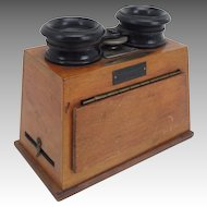 Antique Unis-France Stereoscope Stereo Viewer