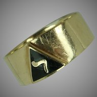 10k Gold Masonic Ring 14th Degree sz. 12 Winston-Salem, NC