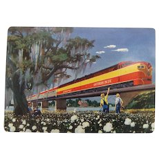 Vintage Southern Pacific Lines Railroad Playing Cards