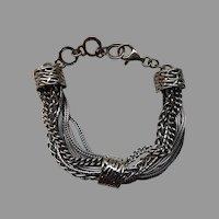 Silpada Sterling Talk of the Town Multi-Strand Bracelet