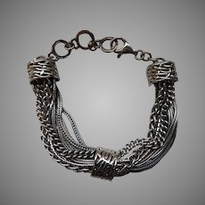 Silpada Sterling Talk of the Town Bracelet