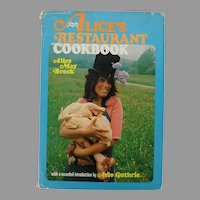 Alice's Restaurant Cookbook with Arlo Guthrie Recording