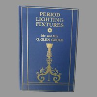 Period Lighting Fixtures by Gould, 1928, hardcover