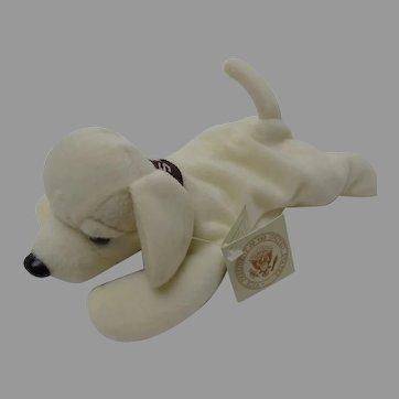 Vice-President Dick Cheney's Presidential Gift Stuffed Animal Plush NELSON Dog