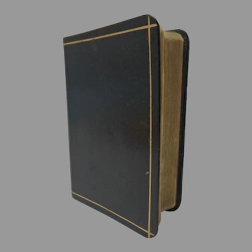 Collins New Gem Dictionary of the English Language. Leather Bound