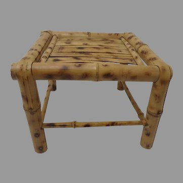 Bamboo Square Plant or Display Stand