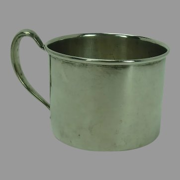 Whiting Sterling Baby Cup