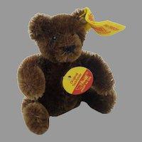 Steiff Mini Original Teddybar Brown Mohair 3.5 inch