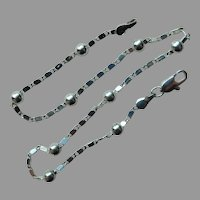 Sterling Silver Ankle Bracelet Ball and Chain 10.25 inches