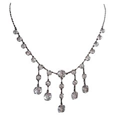 e9a3ae985 Crystal Drop Earrings, Art Deco Briolette, Dichroic : Lake Girl ...